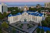 Metropolitan Onuphry Consecrates University Church in Odessa