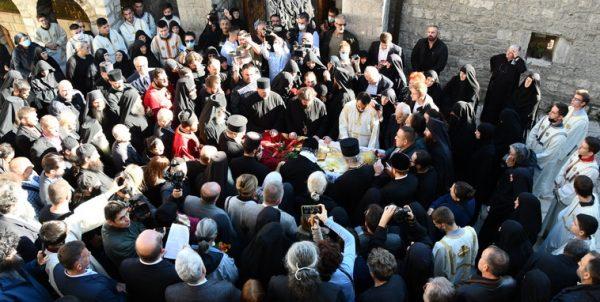 Funeral of Metropolitan Amfilohije of Montenegro Held on Sunday