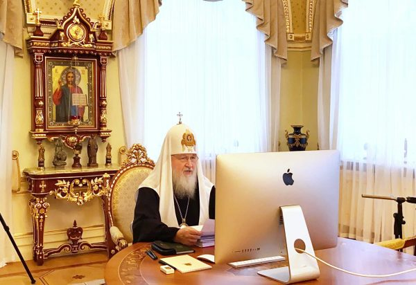 Patriarch Kirill Presides Over Regular Session of the ROC Holy Synod