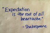 Overcoming Temptations Through Low Expectations