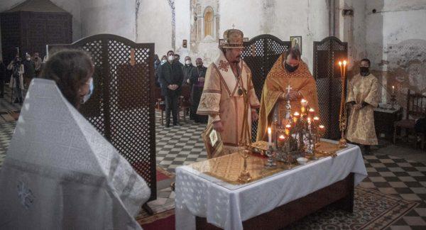 The 16th Century Catholic Church in Granada Officially Transferred to the Russian Orthodox Parish