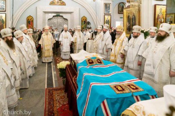 Funeral for Metropolitan Philaret Held in Minsk