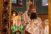 Patriarch Kirill congratulates Metropolitan Porfirije on his election to the Serbian Patriarchal See