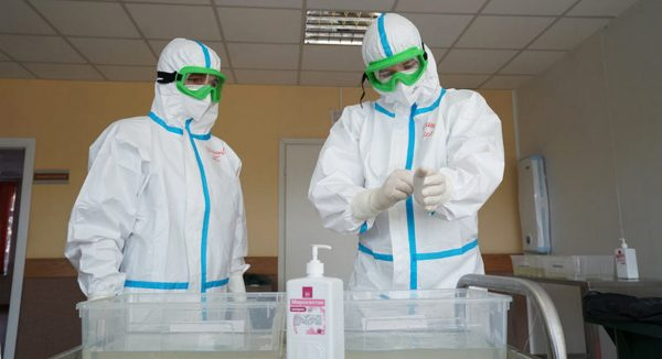 Parish in Irkutsk Donates 2000 Sets of PPE with the Help of Benefactor