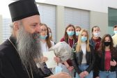 Patriarch of Serbia Visits the Orthodox Grammar School in Zagreb