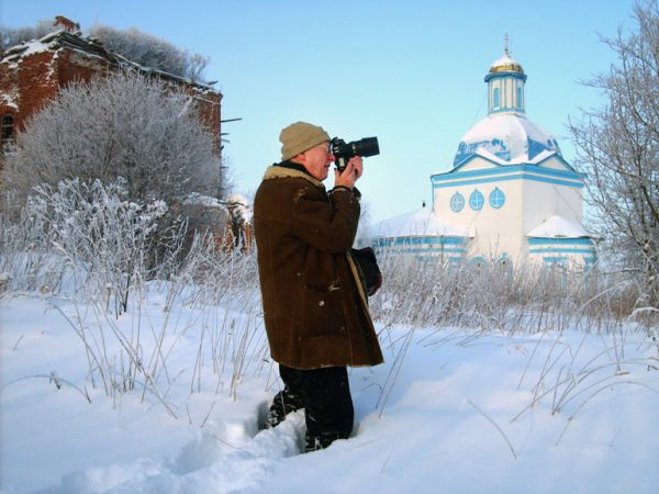 Film about an American who Took over 150 Thousand Photos of Russian Churches to Be Shown in Moscow