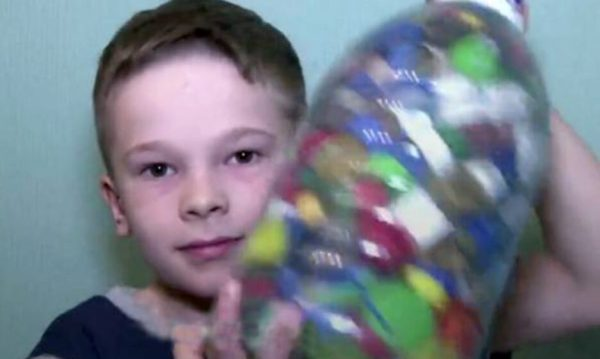 8-year-old Sasha dreamed of a new toy. But he gave all his money to another child for treatment
