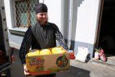 Paschal Set from Bukovina Belivers Arrives in Svyatogorsk Holy Dormition Lavra