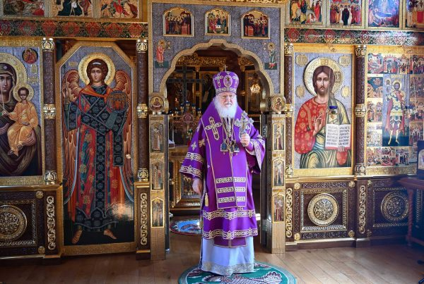 Patriarch Kirill: Faith in the Lord Gives Us the Ability to Distinguish Between Good and Evil