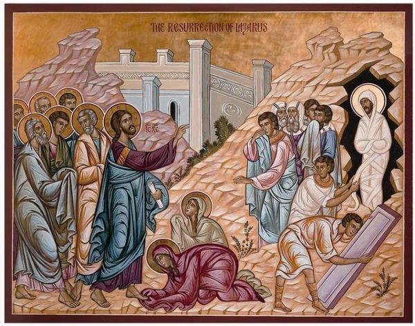 In Lazarus' Tomb