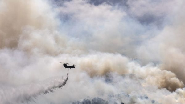 Greece Evacuates Villages as Fire Blazes Through Forestland North West of Athens