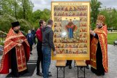 Unique Icon with Over 50 Images of the Mother of God Created for a Parish in St. Petersburg