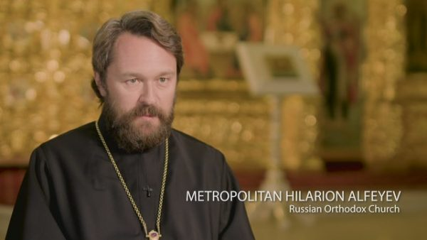 Metropolitan Hilarion: Russian Orthodox Church Prays for Peace in Jerusalem