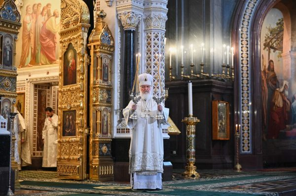 Patriarch Kirill: Pascha of the Lord Is the Boundless Love of the Creator for Humankind