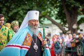 Holy Pentecost Celebrated at Kiev-Pechersk Lavra