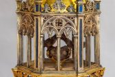 Particle of Holy Relics of St. John the Baptist Discovered in Florence