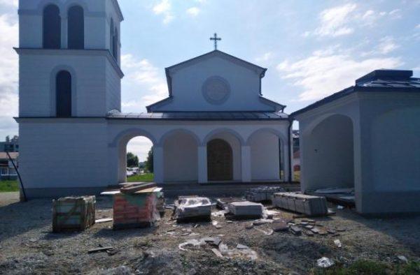 Vandals Attack Serbian Church in Croatia