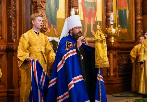 Metropolitan Hilarion leads celebration of the 300th anniversary of Nizhny Novgorod Theological Seminary