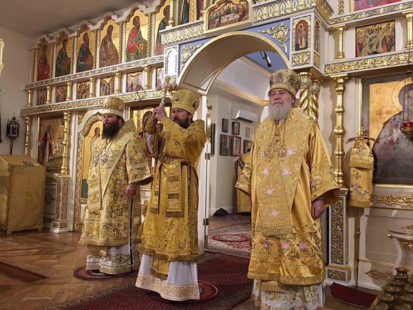 Metropolitan Hilarion of Volokolamsk Visits Headquarters of ROCOR Synod of Bishops