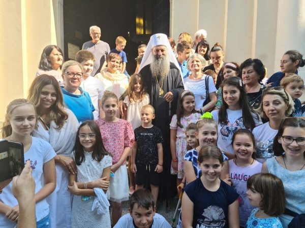 Patriarch Porfirije: The Order of Nature is Defeated where the Lord is Present