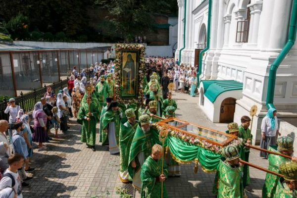 Memory of the Venerable John the Recluse Celebrated at Svyatogorsk Lavra