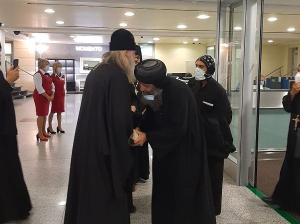 Delegation of the Coptic Church Visits Russia