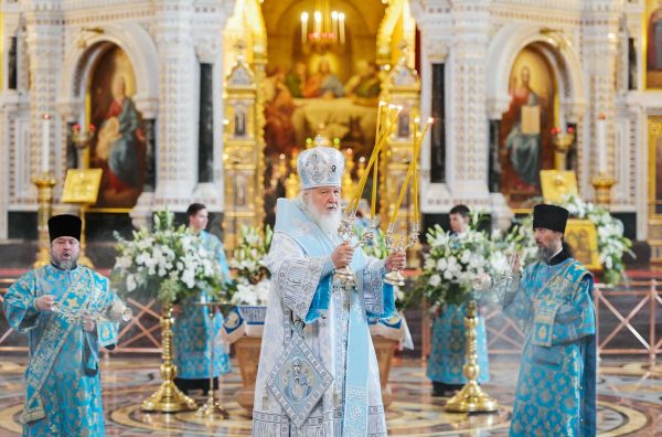 Patriarch Kirill: Example of the Most Holy Theotokos Should be a Guiding Star for Each of Us