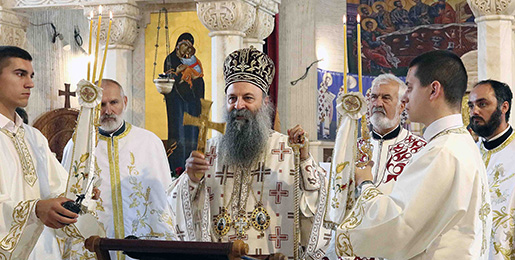 Patriarch Porfirije: Everything the Church does is based on the words of Christ, on faith and prayer, on calmness and love