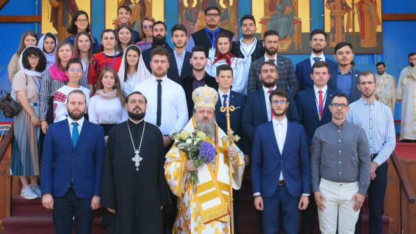 """Bp Timotei: Orthodox Youth Association members are Christ's """"mystical disciples"""" who are not ashamed to profess Him"""