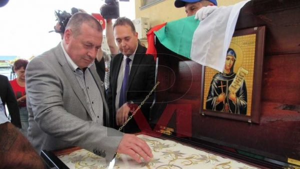 Romanians Offered Bulgarians a Second Vestment of St. Paraskeva and 30 Tons of Food