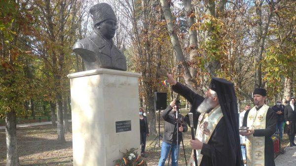 Monument to New Martyr Valeriu Gafencu Blessed in His Hometown